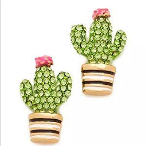 Kate Spade cactus studs